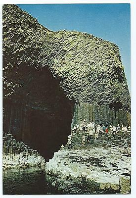 Colour Postcard of Fingal's Cave, Staffa, Scotland