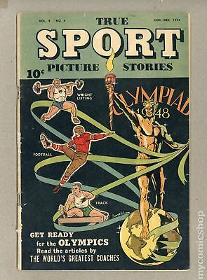 True Sport Picture Stories Vol. 4 #4 1947 GD/VG 3.0