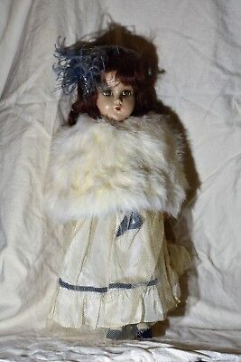 """1938 Madame Alexander Composition Doll Great Condition 14.5"""""""