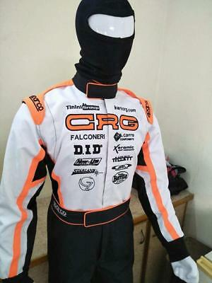 CRG Go kart Cordura Printed Racing Suit  Latest Style