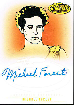 Star Trek The Original Series Art And Images Autograph Card A29 Michael Forest