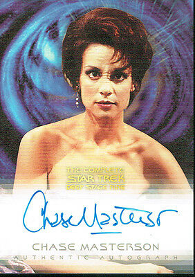 The Complete Star Trek Deep Space Autograph Card A12 Chase Masterson As Leeta
