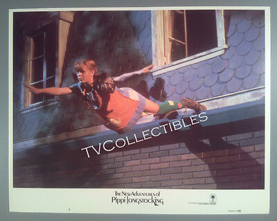 11x14 Lobby Card~ NEW ADVENTURES OF PIPPI LONGSTOCKING ~1988 ~Tami Erin ~Flying