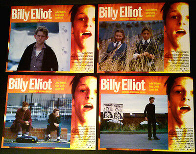 Lobby Card Lot~ BILLY ELLIOT 2000 ~Jamie Bell ~Nicola Blackwell~Julie Walters~CS