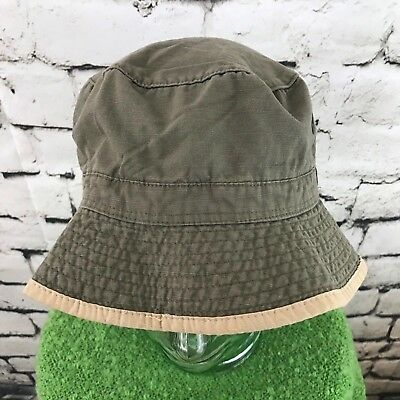 Old Navy Mens Sz M-L Hat Gray Khaki Fisherman's Outdoor Bucket Sun Cap