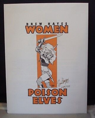 Comic Images Poison Elves By Drew Hayes #649 / 777! All 6 Prints Complete!
