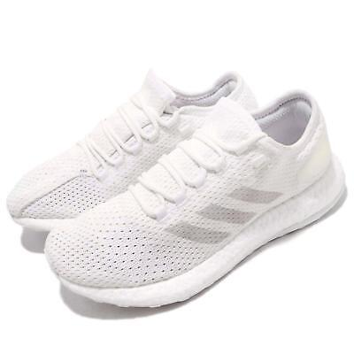 27a7e1da5b0f1 adidas PureBOOST Clima White Grey Men Running Casual Shoes Sneakers BY8897