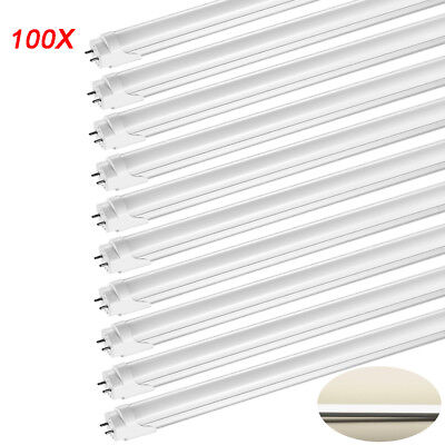 100X 120cm T8 LED Leuchtstofflampe Tube Naturweiß Leuchtstoffröhre Lampe