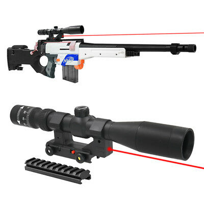 Tactical Sniper Distance Scope 1.5X Sight with Pointer for Nerf MOD Modidy Toy