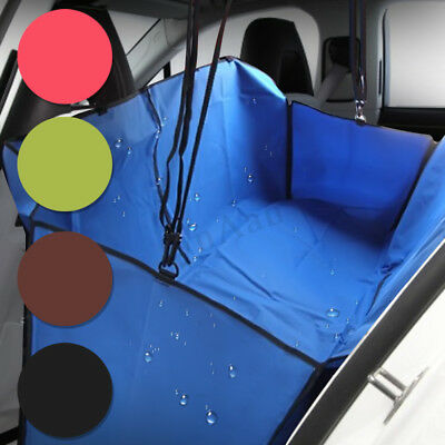 Pet Dog Cat Car Rear Back Seat Cover Safety Mat Liner Waterproof Hammock Cushion