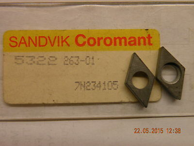 x1 off Sandvik shim seating 5322 263-01 suits DCMT 11 lathe toolholders new