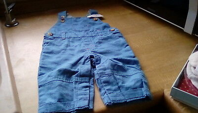 New with tags Cath Kidston baby dungaree mono dino size 0-3 months