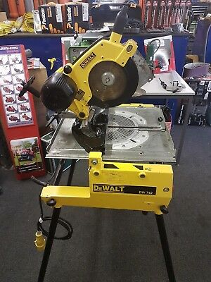 Dewalt Dw742 Flip Over Table Saw Chop Saw Mitre Saw 110v PAT TESTED