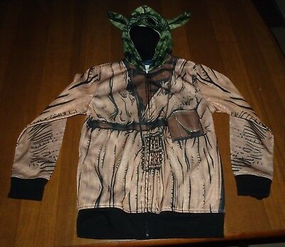 "Star Wars Size Medium Multi Color ""Yoda"" Hooded Jacket in EUC"