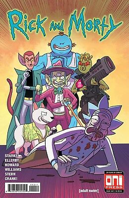RICK AND MORTY (2015) #42 - Cover A - New Bagged