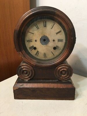 Antique Ingraham Grecian Model Clock Case Restoration Project