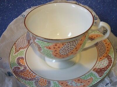Russian Imperial Porcelain Tea Cup & Saucer St. Petersburg Unknown Pattern.