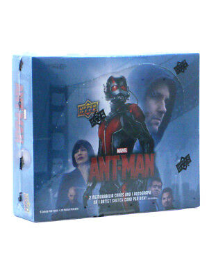 2015 Upper Deck Ant-Man Trading Cards Hobby Box Marvel Comics UD Sealed New