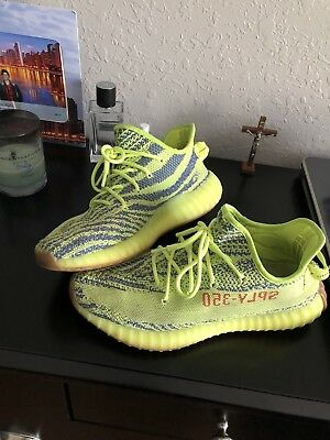 more photos 505db 96b90 ADIDAS YEEZY BOOST 350 V2 Semi Frozen Yellow