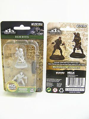 WZK73098 - Pathfinder Battles Deep Cuts - Unpainted Bandits