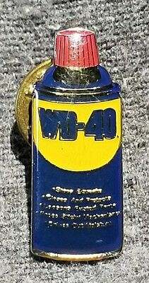 LMH PINBACK Pin WD40 WD-40 Spray Lubricant Can HOME DEPOT Employee Insignia
