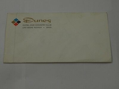 Dunes Hotel and Country Club Las Vegas NV in room USPS envelope