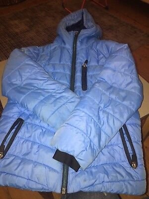 Lovely Next boys bright blue lightweight padded coat age 6 years