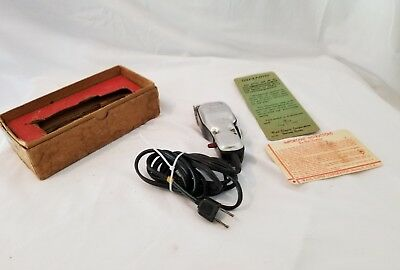 Vintage Wahl  Solid Small Clippers Professional Wahl 000 Blade tension Box,
