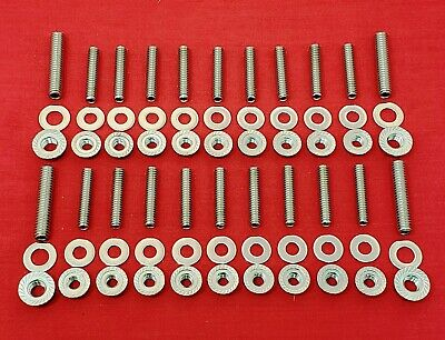 Sbf Small Block Ford 289 302 5.0L 351W Oil Pan Stainless Stud Bolt Kit