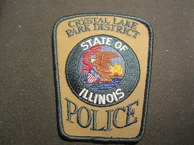 Crystal Lake  Il Park District Police Patch