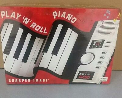 Sharper Image Play N Roll Digital Piano Electronic Keyboard   NEW