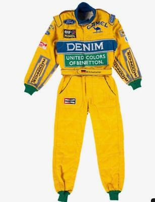 Michael Schumacher 1991 printed Racing Suit /F1