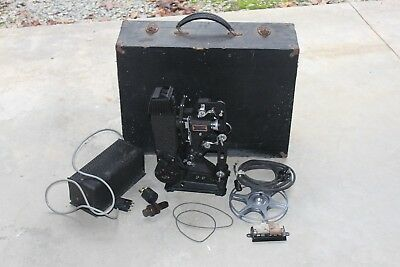 VINTAGE PATHESCOPE PROJECTOR With Original Box - MADE IN ENGLAND