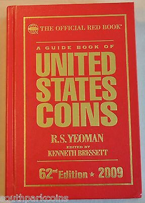 2009 Hardcover Redbook - Official Guide Book Of United States Coins