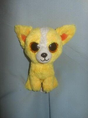 TY Beanie Babies Boos DANDELION Gift Show Exclusive Yellow Dog 6