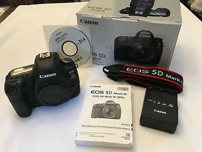 Canon EOS 5D Mark IV Digital SLR Camera *EXCELLENT CONDITION* - Body Only
