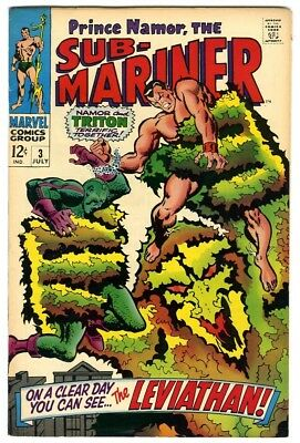 Sub-Mariner #3 (1968) VF- New Marvel Silver Bronze Collection