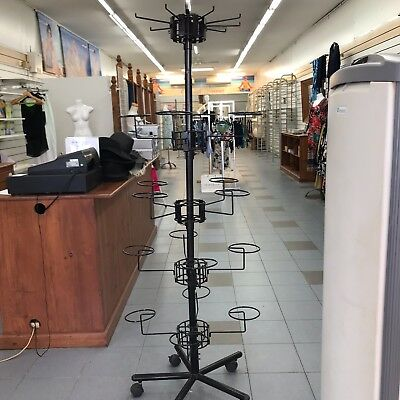 used shop fittings slatwall fittings mobile rack and accesories sesomatic system