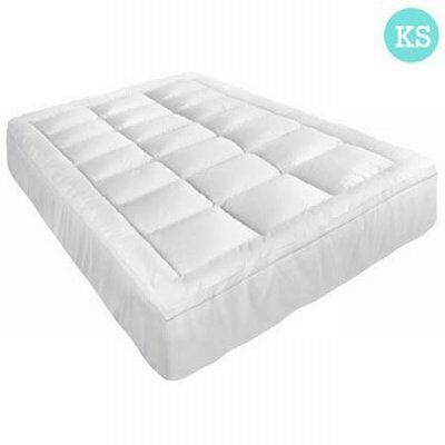 NEW King Single Pillowtop Mattress Topper Memory Resistant Protector, 5cm Thick