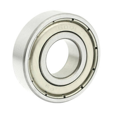 6001ZZ Double Sealed Deep Groove Ball Bearings 28mm x 12mm x 8mm
