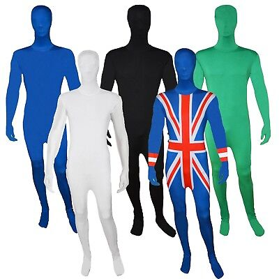 Mens Zentai 2nd Skin Bodysuit Costume Lycra Bodysuit Halloween Costume Dress