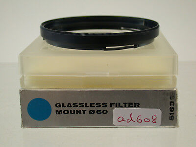 Original Hasselblad B-60 Filter Adapter Adapters Glassless Lens ad608/8