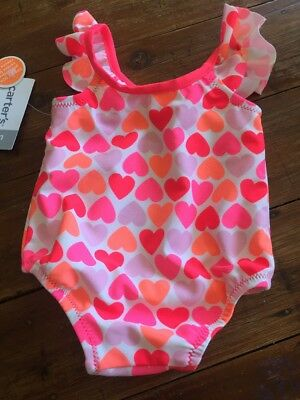 Carters Carter's Brand New Size 6 Months Swimmers Swimsuit One Piece Baby Girl