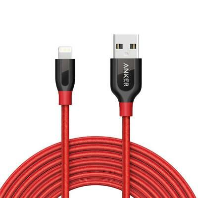 Anker PowerLine+ Lightning Cable (10ft) Durable and Fast Charging Cable [Double