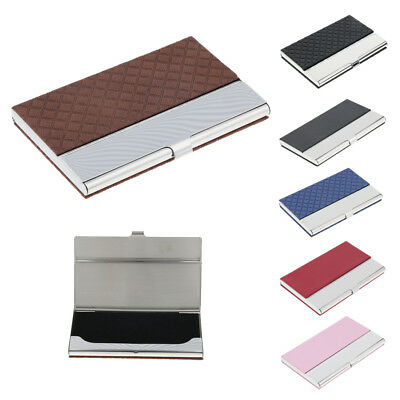 Stainless Steel Business Card Holder Name/Credit/ID Card Case Wallet / Gift