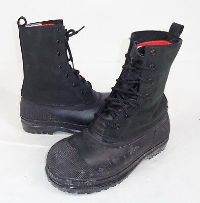 Mukluks Laplander Cold Store Freezer Forklift Driver Steel Toe Boots 7/8 A7 SF12