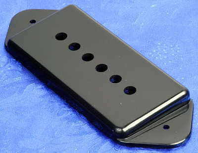 Lindy Fralin Black P90 Dog Ear Short/Low Neck Pickup Cover For Gibson Dogear NEW