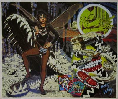 Robert Williams The Toothfairy Lowbrow Art Poster