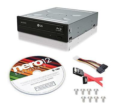 LG WH14NS40 M-Disc Burner 3D Playback Internal 14X Blu-ray Writer with Nero 12