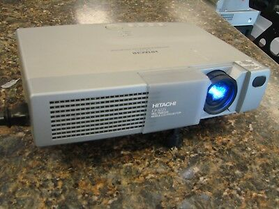 Hitachi CP-S225 LCD Home Theater Multimedia Projector 1100 Lumens 300:1